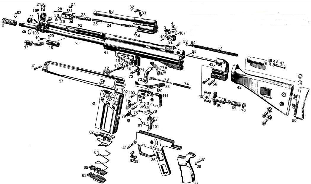 Ak47 Schematic on revolver schematics diagrams, shotgun schematics or diagrams, handgun schematics and how it works,