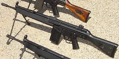 Fotos - Wide Black Handguard For Hk91 G3 Ptr91