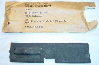 MG42 Dust Cover New, Pin & Spring