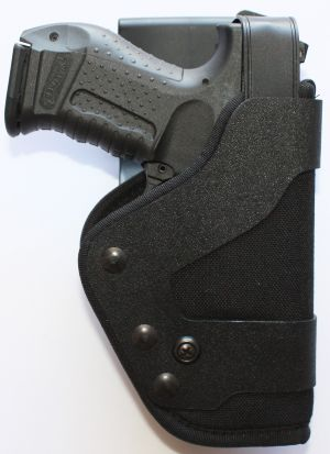 Uncle Mike's Pro-3 Triple Retention Duty Holster Size 30