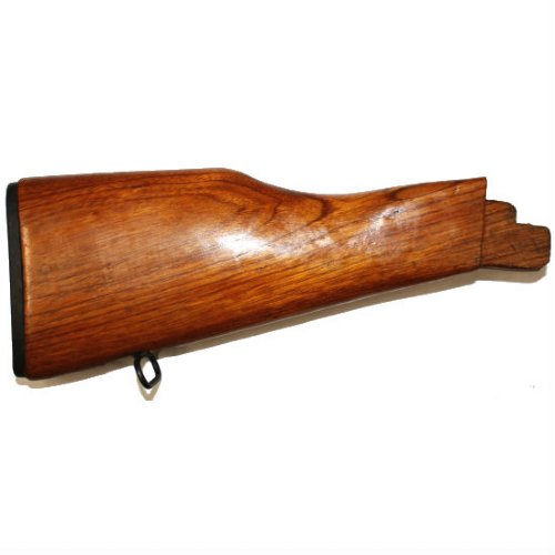 akm solid wood buttstock new