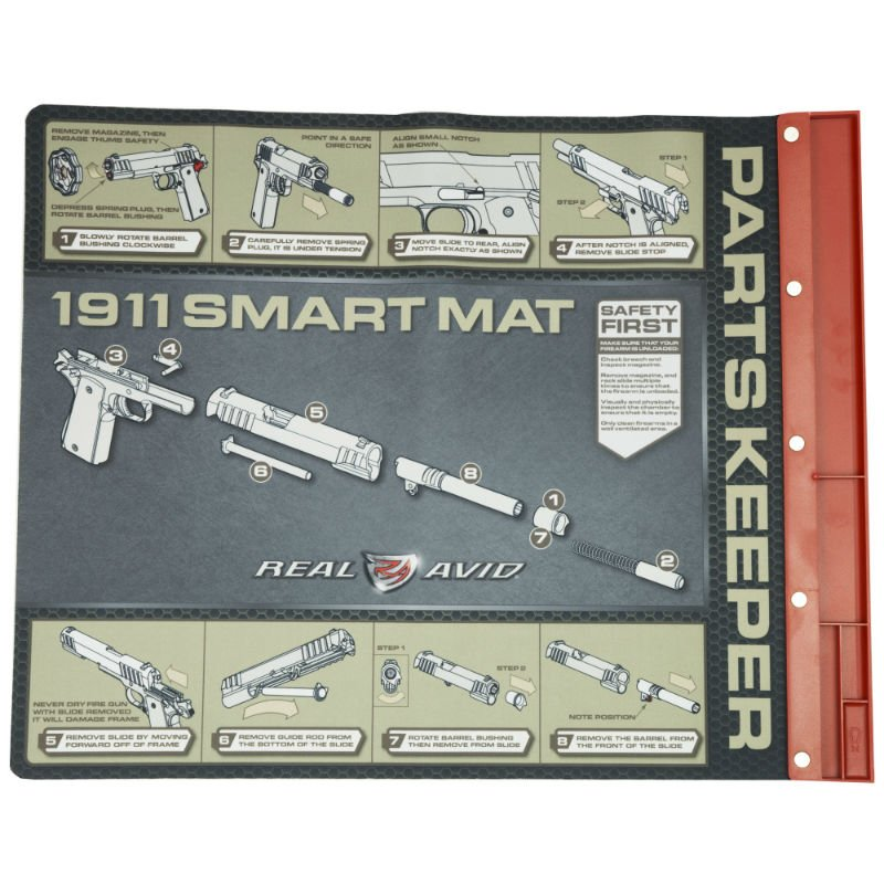 1911 Pistol Cleaning Mat Ultimate Arms Gear 1911 Polymer
