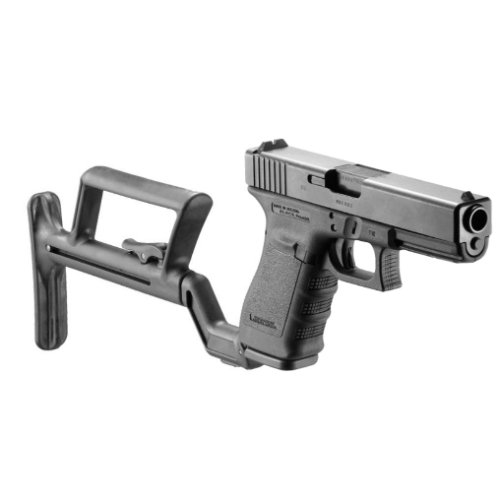TACTICAL COLLAPSIBLE STOCK FOR GLOCK MODELS 19 20 21 23 32 38