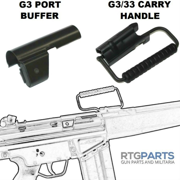 HK CARRY HANDLE NEW FOR G3 PTR HK33, POF