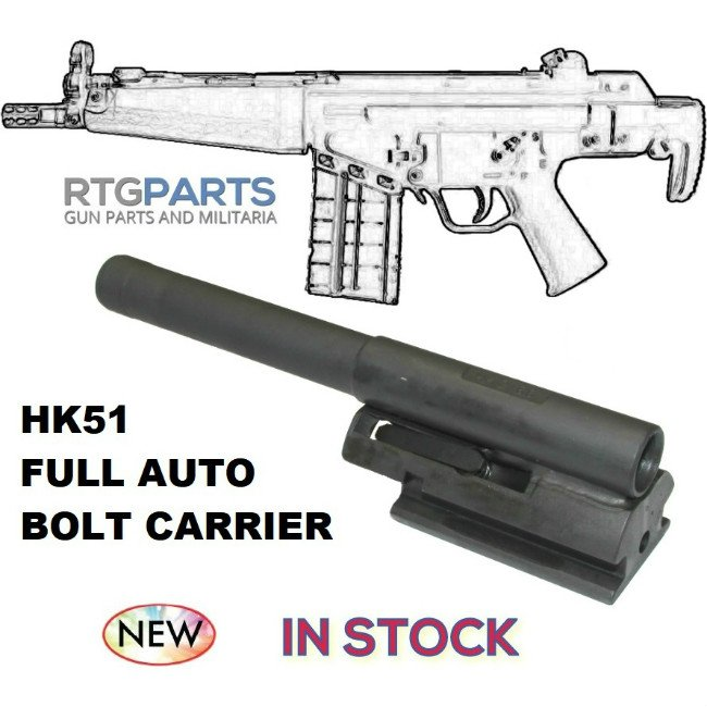 HK51 BOLT CARRIER WITH LOCKING LEVER, FULL AUTO