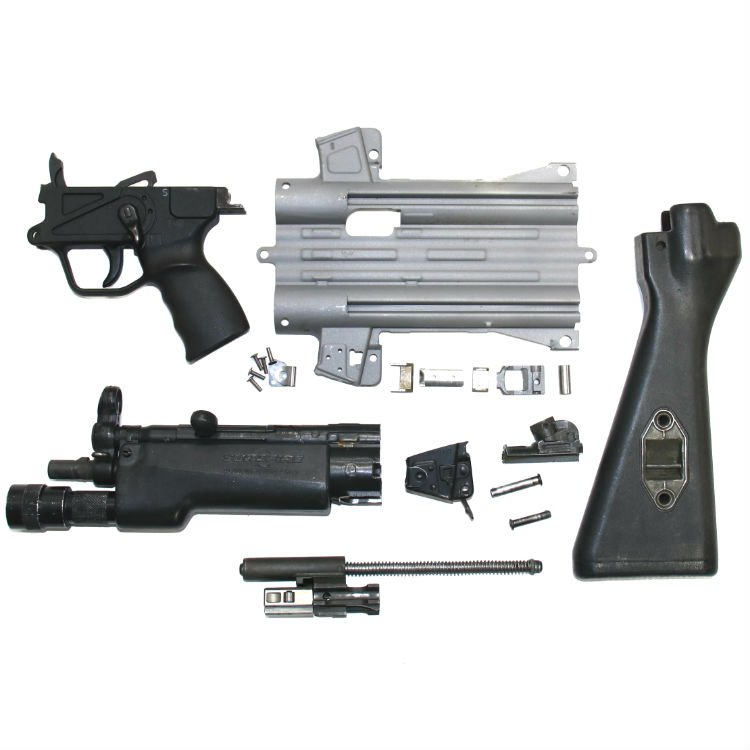 HK MP5 SEF A2 PARTS KIT WITH SUREFIRE AND LSC FLAT KIT