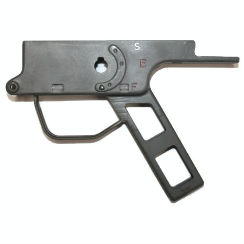 SEMI-AUTO HK91 G3 PTR91 STEEL CLIPPED & PINNED LOWER, PARKERIZED, FOR CLONES