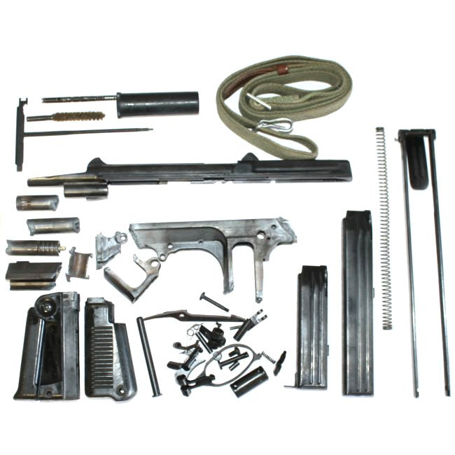 PM-63 RAK Parts Kit Complete with 2 Magazines, PM63, MIS